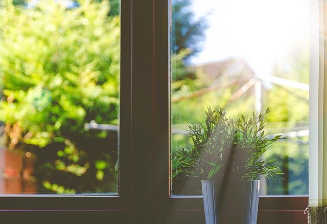 窓から入る紫外線